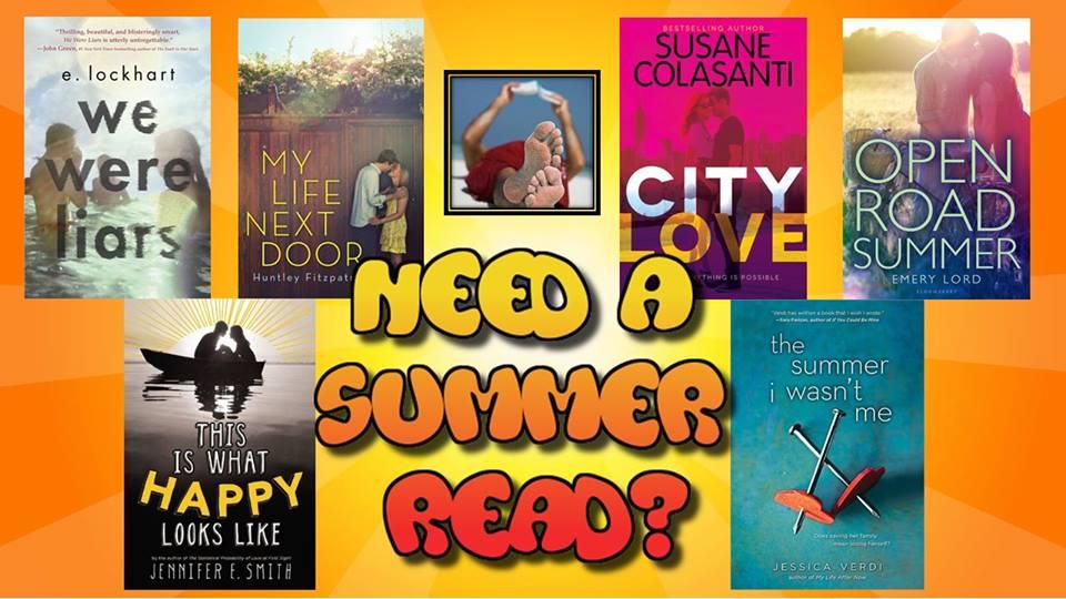 summer books slide