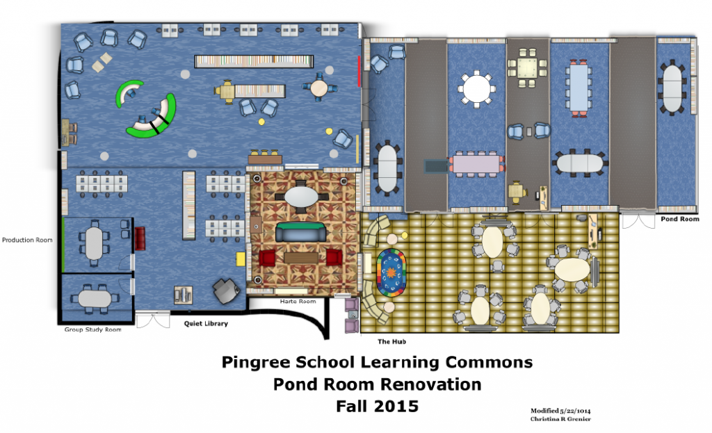 Pingree Learning Commons Renovation