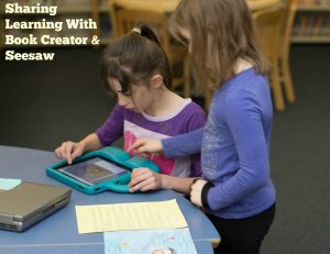 Second grade students create a poem about revolutionary woman using the Book Creator app.