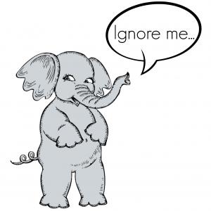 Ignore Me Elephant