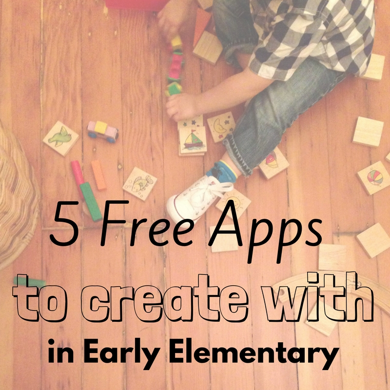 5 free apps to create with in early elementary knowledge quest
