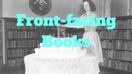 5 Creative Book Display Ideas (without wall space