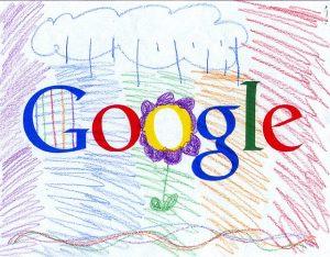 Google logo sketch