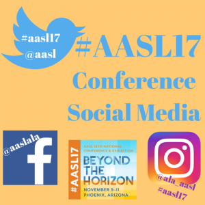 #AASL Hashtags