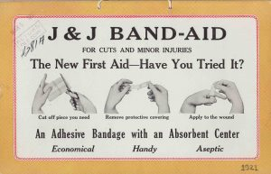 1921 Band-Aid Ad