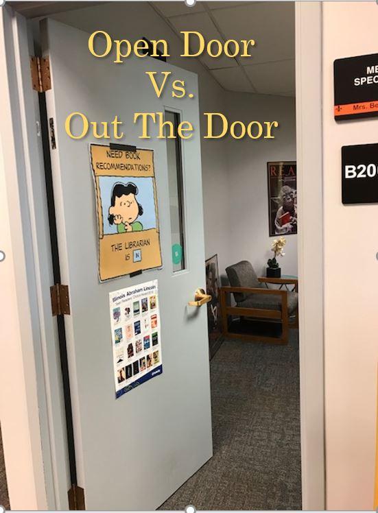 Open Door vs  Out The Door Policy | Knowledge Quest