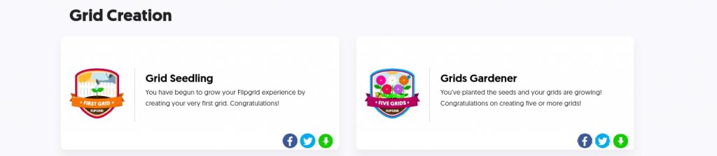 flipgrid badges