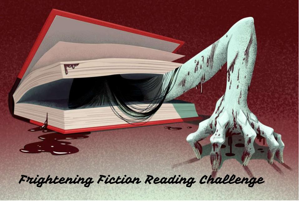 Frightening Fiction Book Challenge   Knowledge Quest
