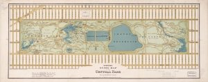 1875 Map of Central Park