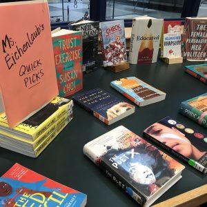 Mrs. Eichenlaub's quick pick book display