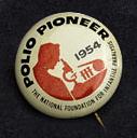 Polio Pioneer Button