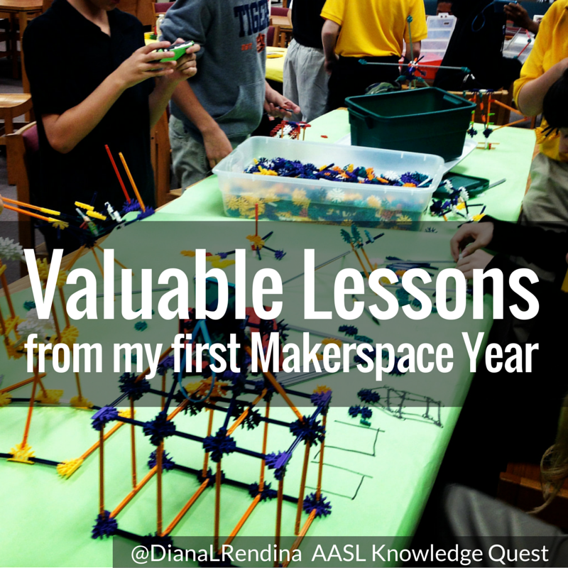 Valuable Lessons from my First Makerspace | AASL Knowledge Quest