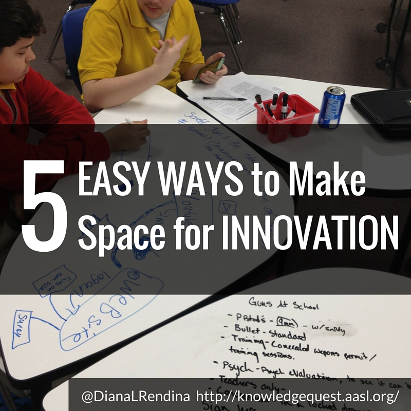 5 Easy Ways to Make Space for Innovation