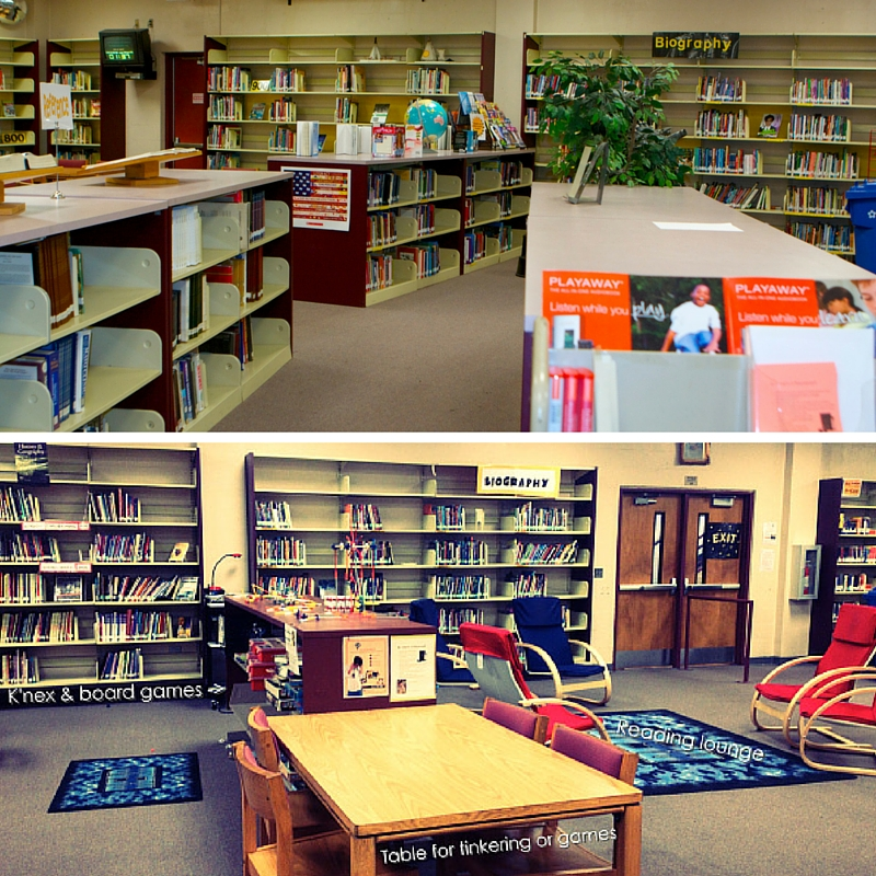 School Reading Room Ideas