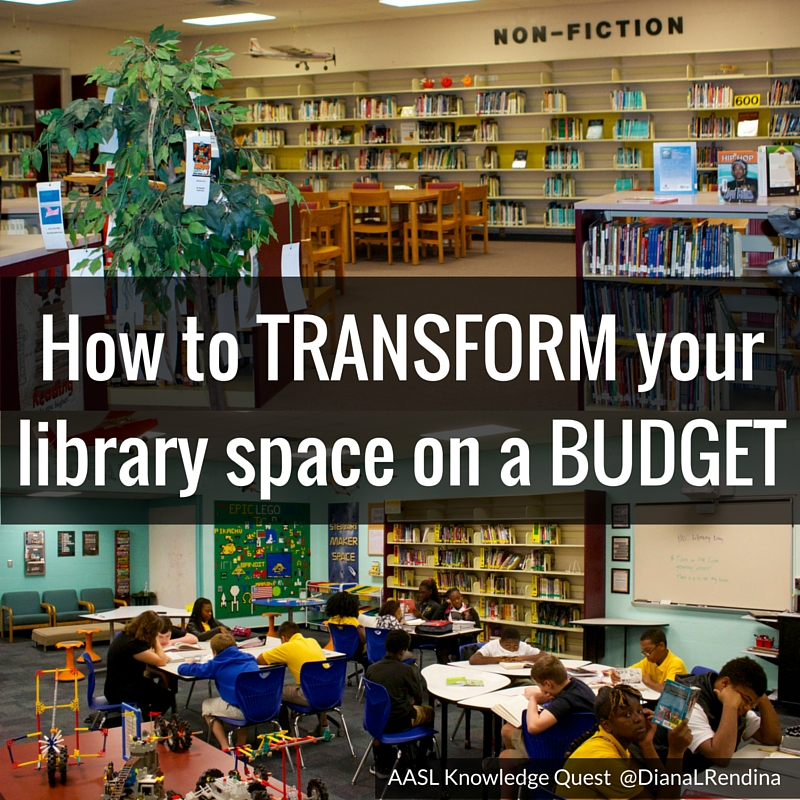 How To Transform Your Library Space On A Budget