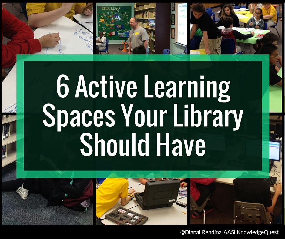 6 Active Learning Spaces Your Library Should Have