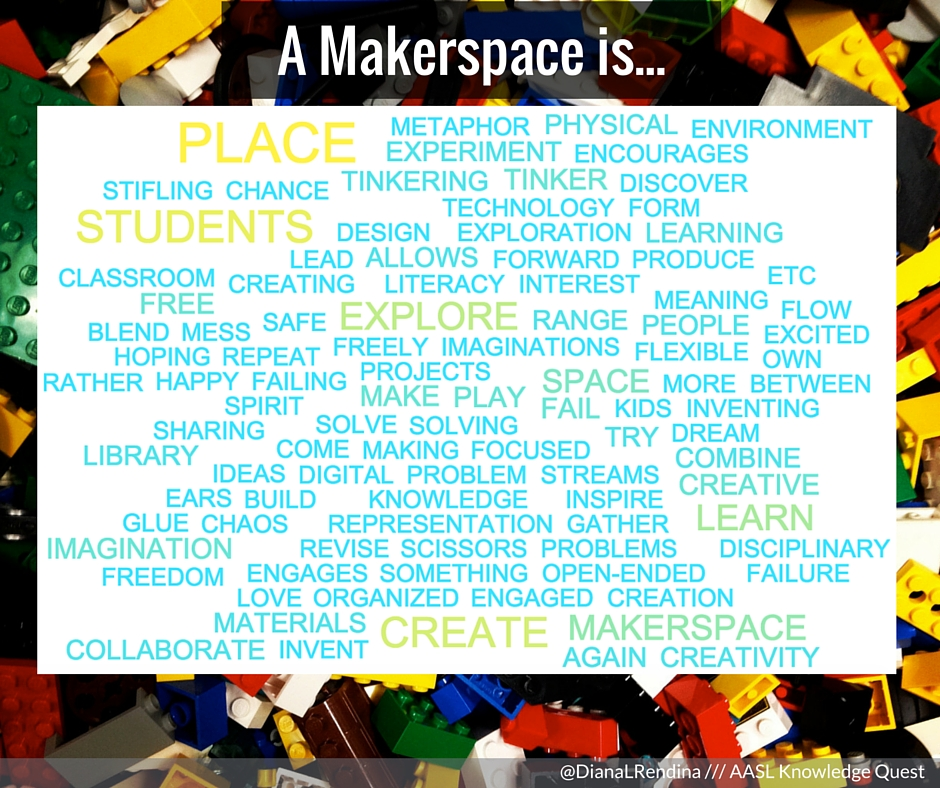 A Makerspace is...