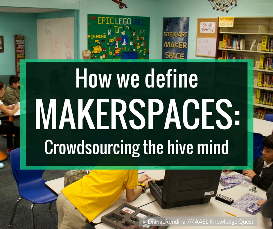 How we define MAKERSPACES: Crowdsourcing the hive mind