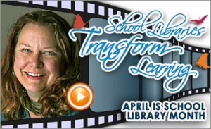 Megan McDonald PSA for School Library Month