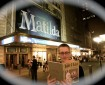 "Mr. Schumacher outside of the Matilda musical reading ""Rabbit and Robot: The Sleepover"" by Cece Bell."