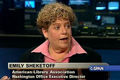 ALA Washington Office Executive Director Emily Sheketoff