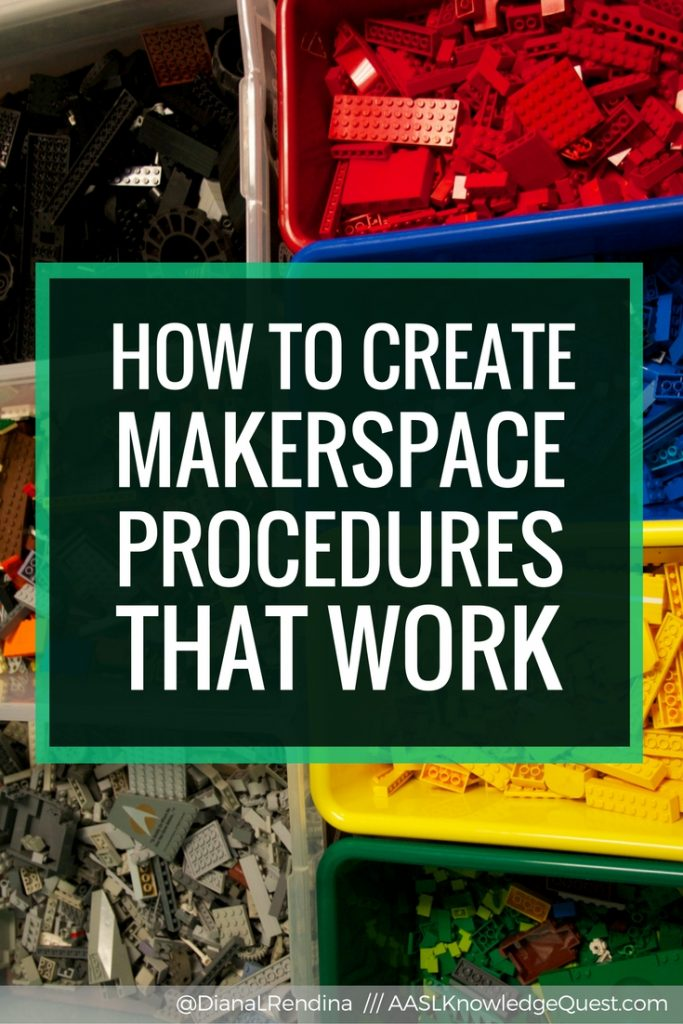 How to Create Makerspace Procedures that Work - Figuring out the best way to get your students to learn and follow procedures can be a tricky process. But having good procedures in place is essential for creating a makerspace that runs smoothly. Check out these tips on how to create makerspace procedures that will work for your students.