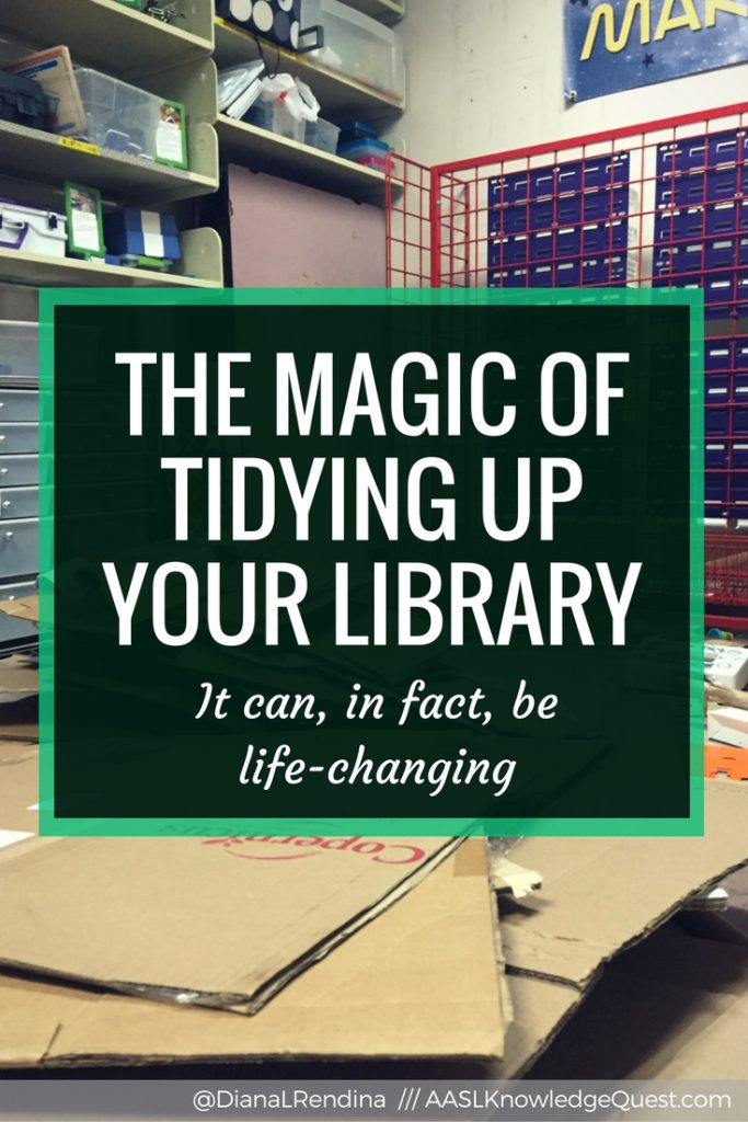 The Magic of Tidying Up Your Library | Just as our homes need decluttering to make them feel comfortable and welcoming, so do our libraries. Take some time to take a hard look at what you're keeping in your space and look for ways to do more with less.