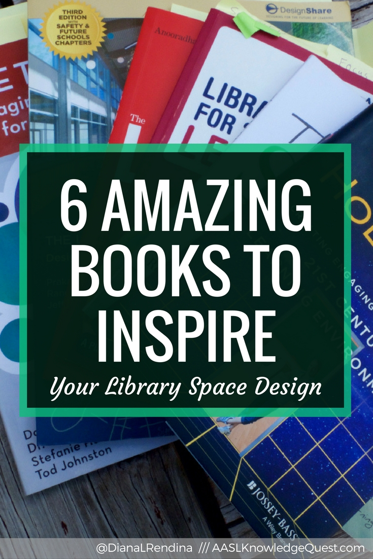 6 Amazing Books to Inspire Your Library Space Design | Want to change up your library space? Check out these books for some great recommendations.