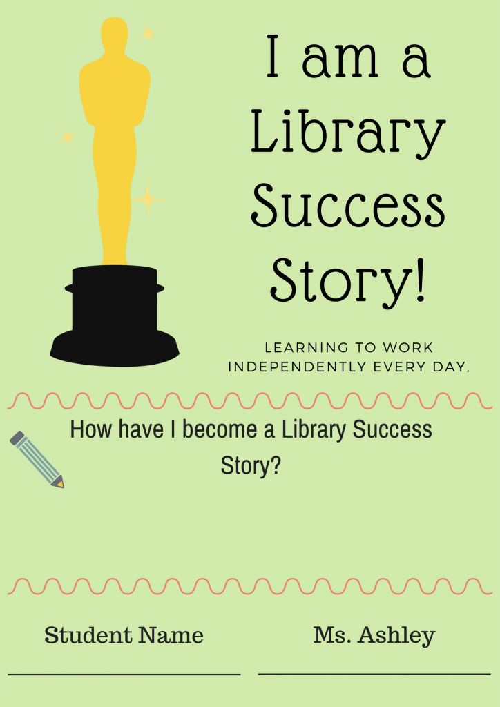 Library Success Story Certificate