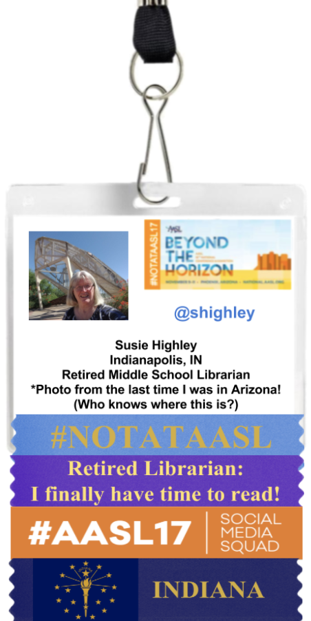 Susie Highley #NOTATAASL Badge