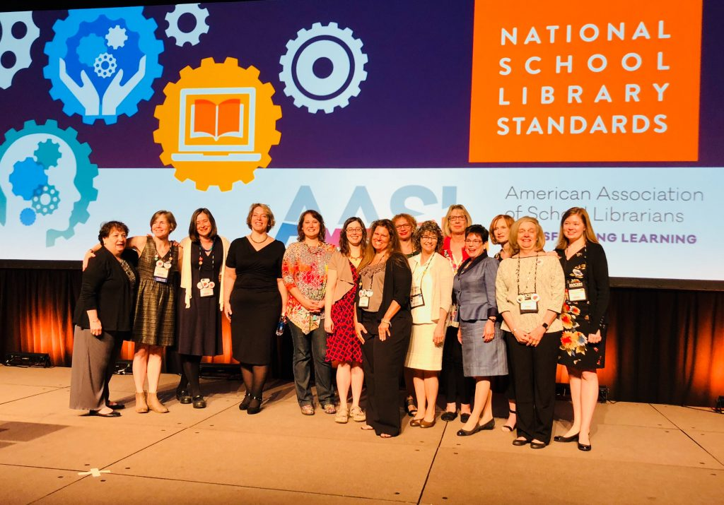AASL standards editorial board, implementation task force