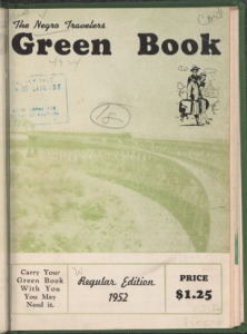 1952 Issue of the Green Book