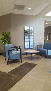 Tech Engagement Center lounge area