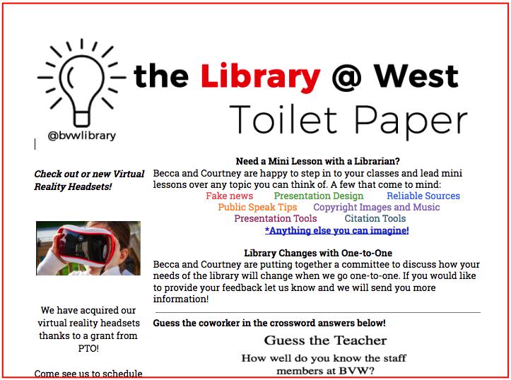 Toilet Paper Example