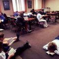 6th graders reading Hatchet