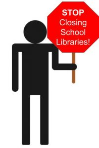 """STOP Closing School Libraries!"" by S. Tetreault"