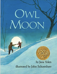 Heading to a summary about Owl Moon by Jane Yolen