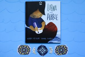 Promotion of the book Lubna and Pebble by Wendy Meddour and Daniel Egneus