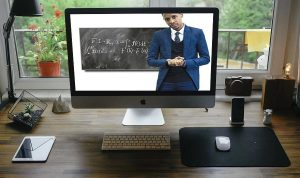 distance learning teacher