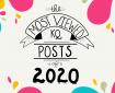 Decorative banner stating the purpose of the blog; listing the top 20 most viewed KQ blog posts of 2020.