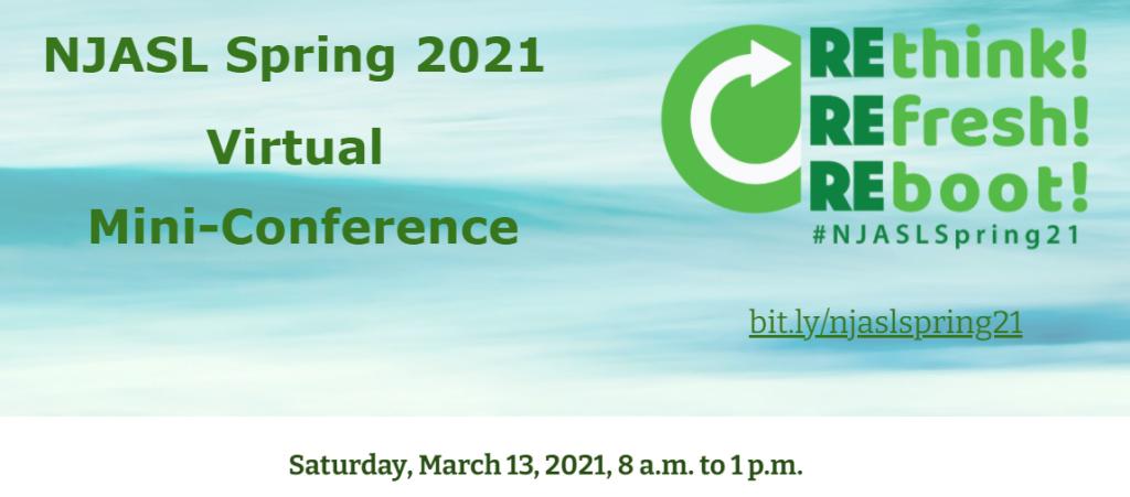NJASL Spring 2021 Website Banner