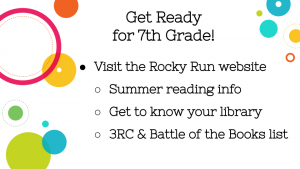 Tells incoming students to learn more about our library through our school's website