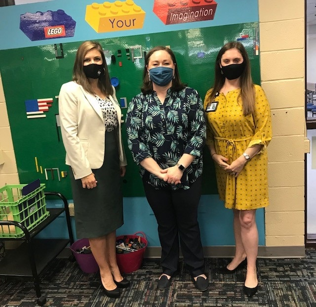 School Library Visit from Louisiana Department of Education