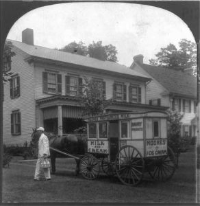 Delivering Milk to City Homes