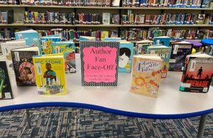 Author Fan Face-Off QR Code Display